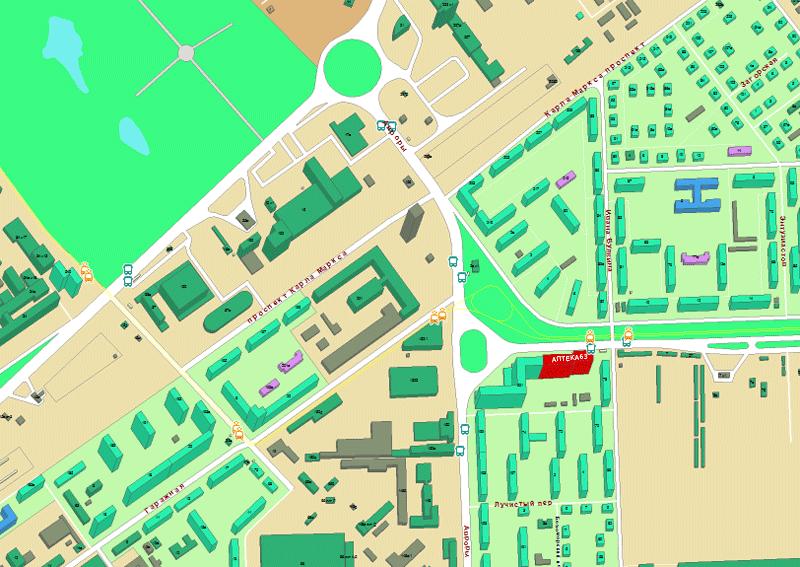 Аптека расположена по адресу: улица Антонова-Овсеенко, дом 3, первый этаж комнаты 10,11.
